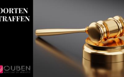 Soorten straffen in Nederland